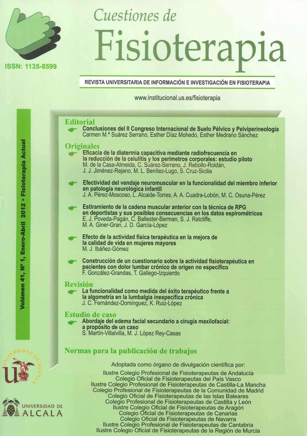 Normas de publicación - Cuestiones de Fisioterapia